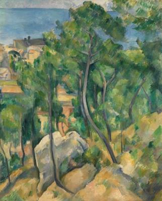 Besuch der Cézanne-Ausstellung am 10. Dezember 2017