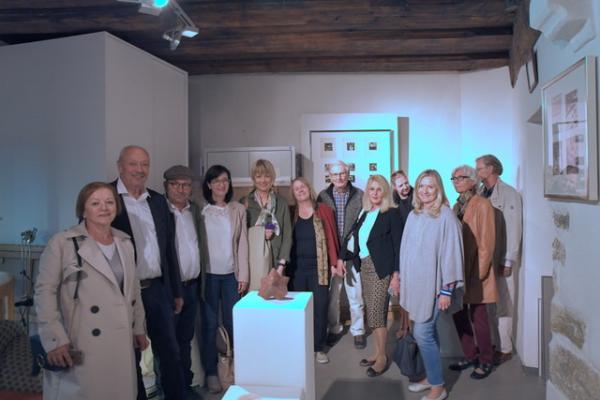 Anregender Rundgang durch die Kunstszene Regensburgs am 22. September 2018