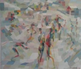 Bild des Werkes mit dem Titel: Am Skihang