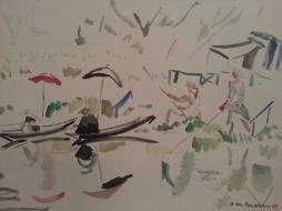Bild des Werkes mit dem Titel: Marais poitevin (Sumpflandschaft des Poitou)