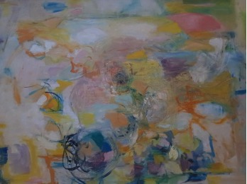 """Bild des Werkes mit dem Titel: Ohne Titel (Rückseite von """"Haus in der Sonne"""")"""