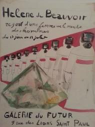 Bild des Werkes mit dem Titel: Regard d'une femme sur le monde des hommes (Blick einer Frau auf die Welt der Männer)