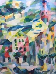 Bild des Werkes mit dem Titel: Bocca di Magra, Barques (Bocca di Magra mit Booten)