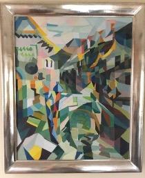 Bild des Werkes mit dem Titel: Wasserstraße in Venedig