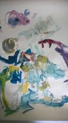 Bild des Werkes mit dem Titel: Die Perlentaucherin (Vorstudie)