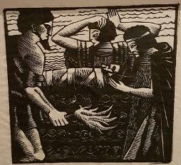 Bild des Werkes mit dem Titel: Die Bestattung des Elpenor