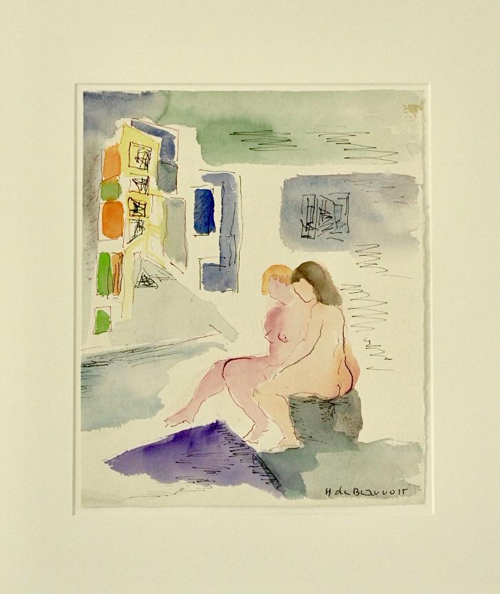 Bild des Werkes mit dem Titel: Die beiden Schwestern