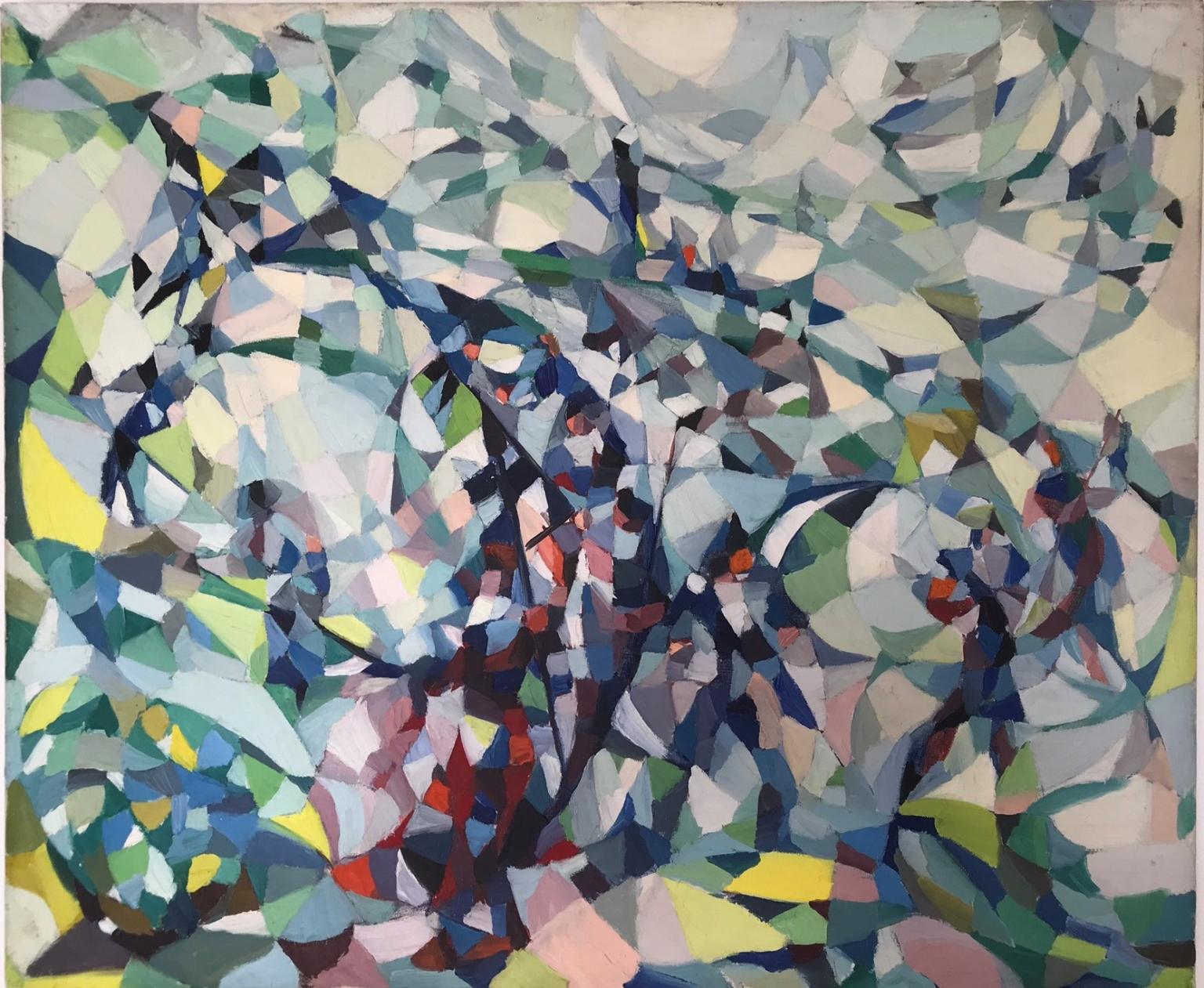 Bild des Werkes mit dem Titel: Frauen am Berghang