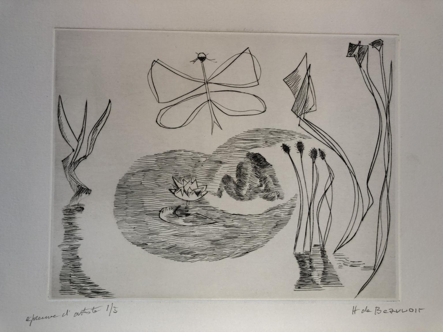 Bild des Werkes mit dem Titel: Am Teich