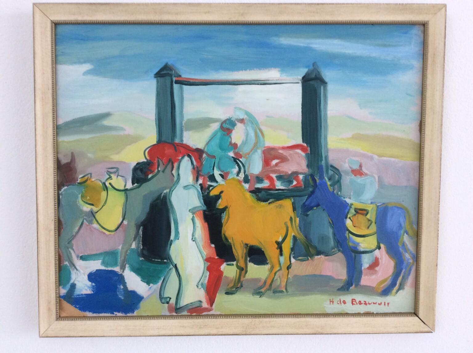 Bild des Werkes mit dem Titel: Au puits (Am Brunnen)