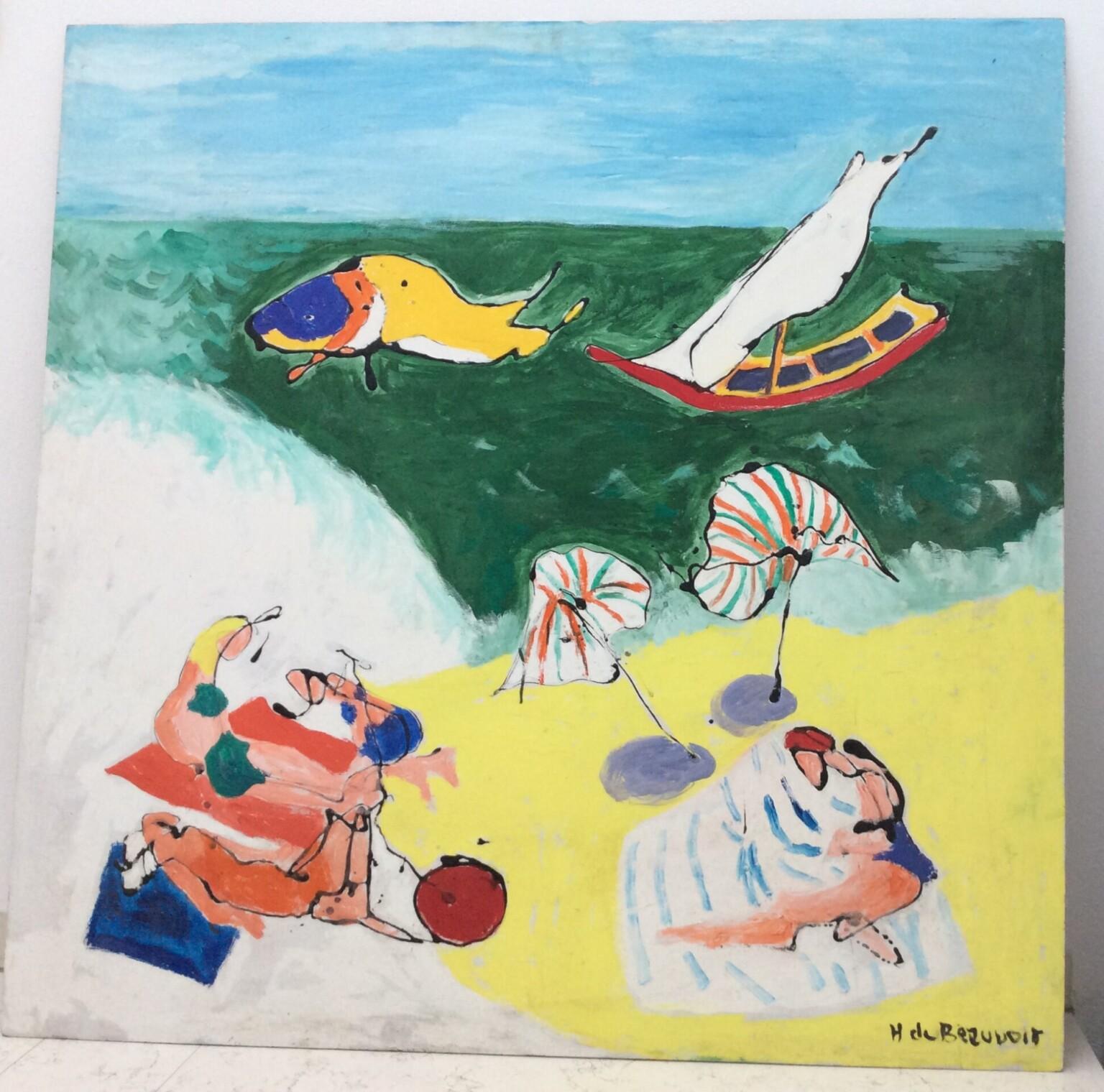Bild des Werkes mit dem Titel: Bain de soleil (Sonnenbad)